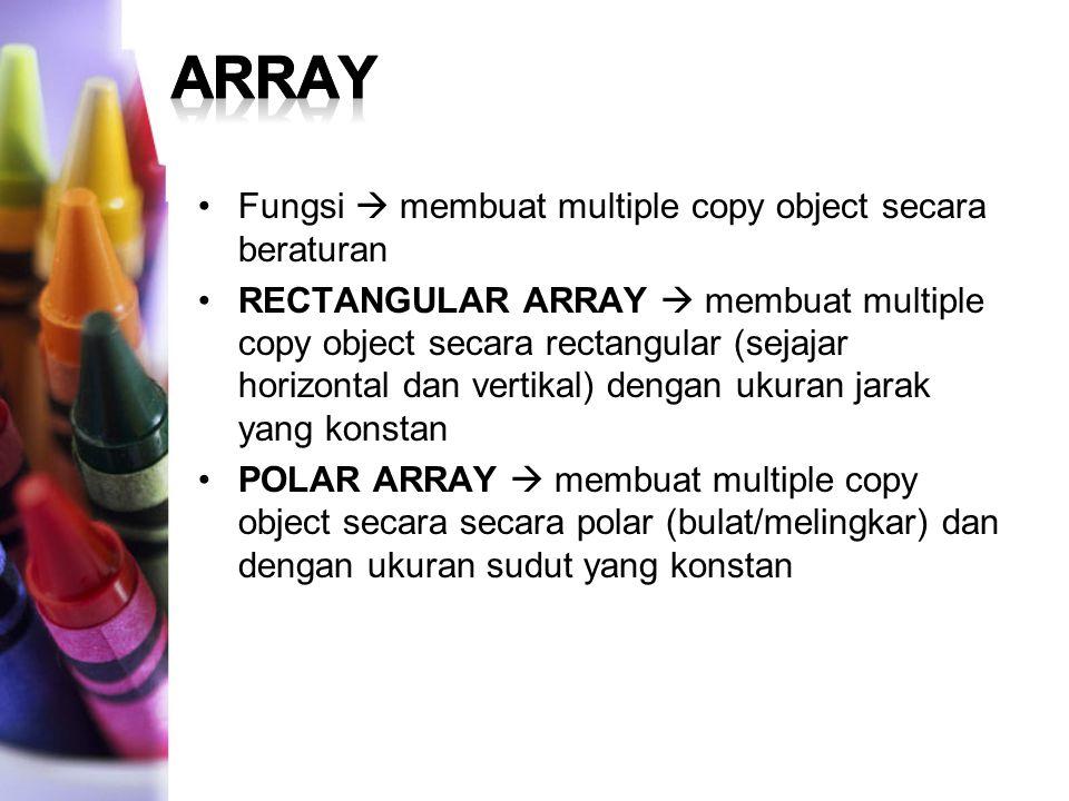 COMAND : ARRAY