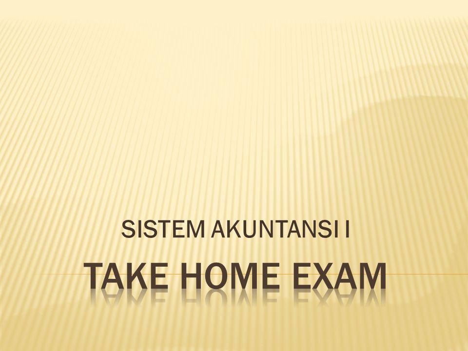 SISTEM AKUNTANSI I