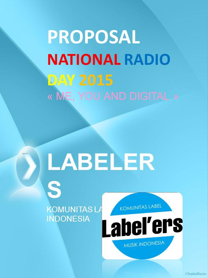 NATIONAL RADIO DAY National Radio Day adalah suatu kegiatan Rutin setahun sekali dimana Music Director (MD) Radio berkumpul untuk melakukan kegiatan-kegiatan tertentu salah satunya adalah melakukan kegiatan bersama-sama label yang ada di Indonesia yang umumnya banyak di Jakarta.