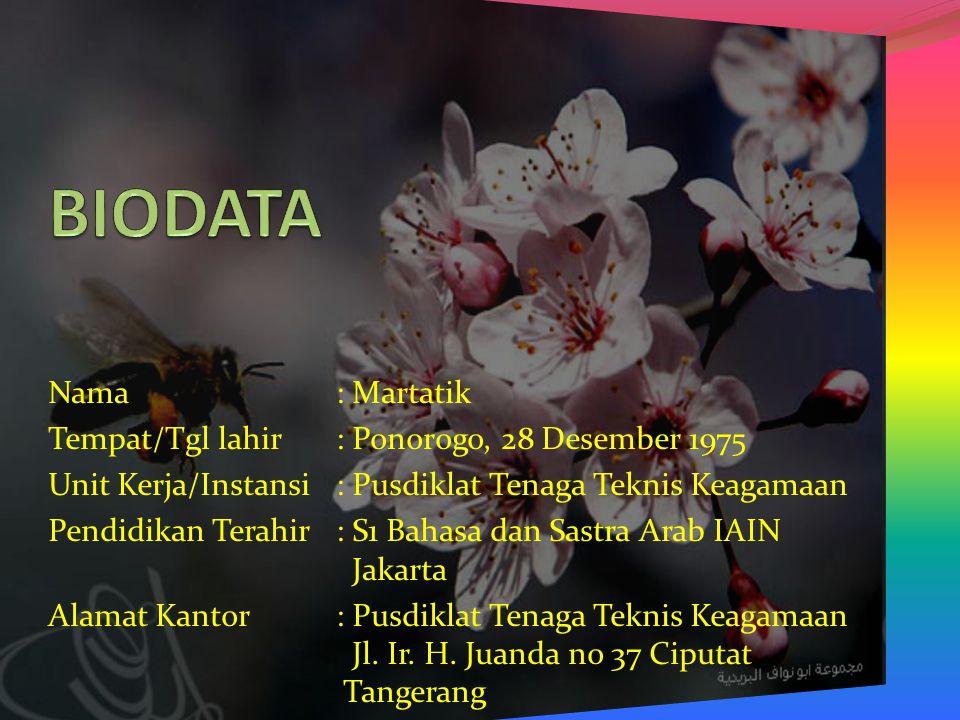 الطَّرِيْقَةُاْلمُبَاشَرَةُ فِي تَعْلِيْمِ اْلمُفْرَدَاتِ Diklat Guru Mata Pelajaran Bahasa Arab MTs.