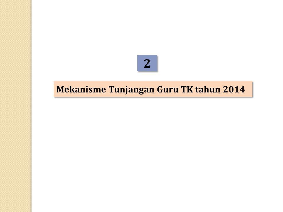 2 2 Mekanisme Tunjangan Guru TK tahun 2014