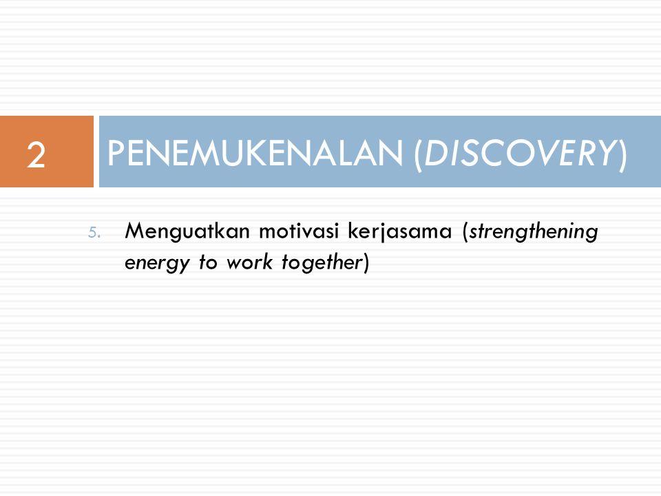 1. Penggalian sumber daya (exploring resource systems) 2.