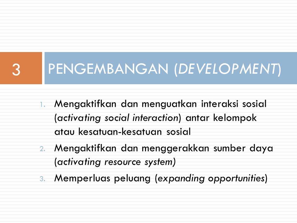 5. Menguatkan motivasi kerjasama (strengthening energy to work together) PENEMUKENALAN (DISCOVERY) 2