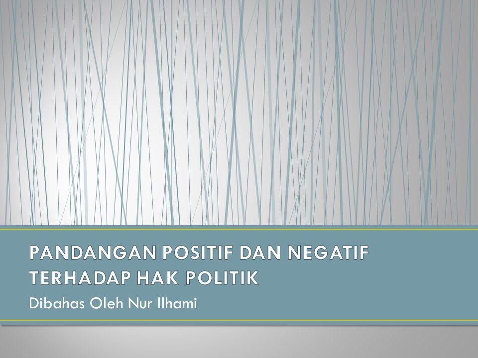 Dibahas Oleh Nur Ilhami