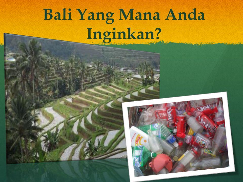 Apakah Sampah Plastik Merusak Bali? Menghancur kan keindahan pulau kita.
