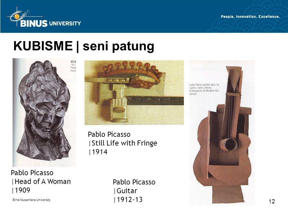 Bina Nusantara University 13 FUTURISME | pemikiran Pemikiran Futurisme digagas oleh Filippo Marinetti pada 1909 di Italia.