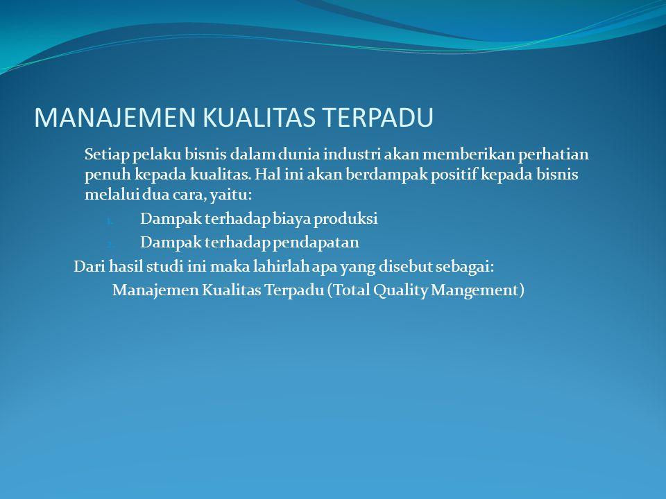 PENGERTIAN DASAR DARI KUALITAS Definisi kualitas memiliki banyak definisi yang berbeda dan bervariasi : a.