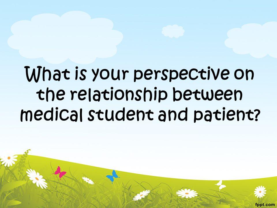Hubungan dokter dengan pasien : -Berdasarkan 4 nilai : Autonomy, Justice, Beneficent dan Non – maleficent -Dimulai dengan adanya 'Fiduciary' yang berarti saling percaya hingga dapat membuat sebuah shared decision – making .