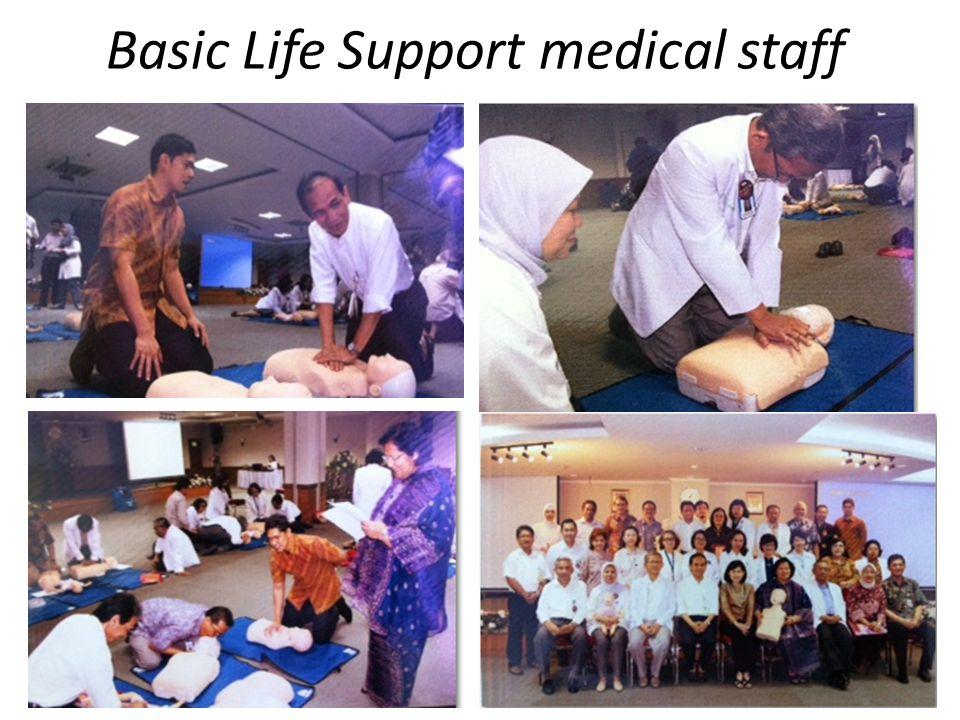 Basic Life Support medical staff