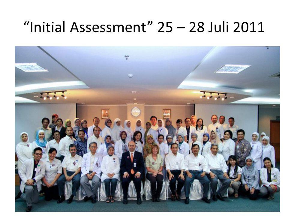 """Initial Assessment"" 25 – 28 Juli 2011"