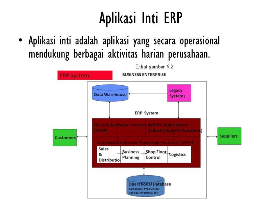 Pemrosesan Analitis Online ERP bukan hanya sekedar sistem pemrosesan transaksi yang rumit.