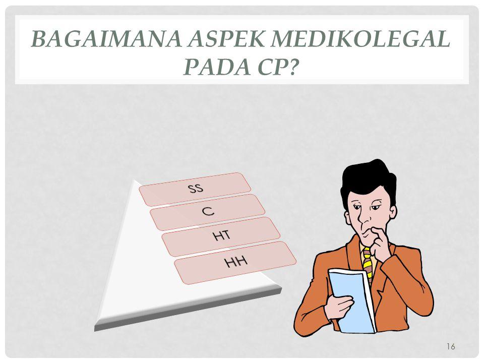 BAGAIMANA ASPEK MEDIKOLEGAL PADA CP? 16