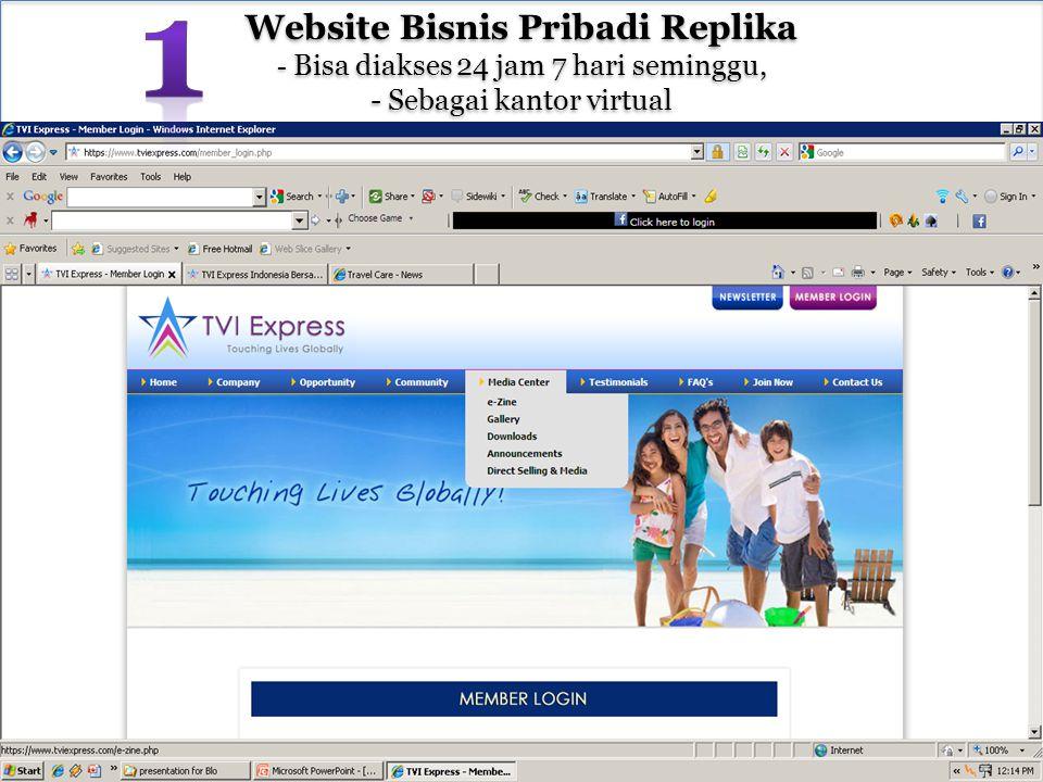 Website Bisnis Pribadi Replika - Bisa diakses 24 jam 7 hari seminggu, - Sebagai kantor virtual Website Bisnis Pribadi Replika - Bisa diakses 24 jam 7 hari seminggu, - Sebagai kantor virtual