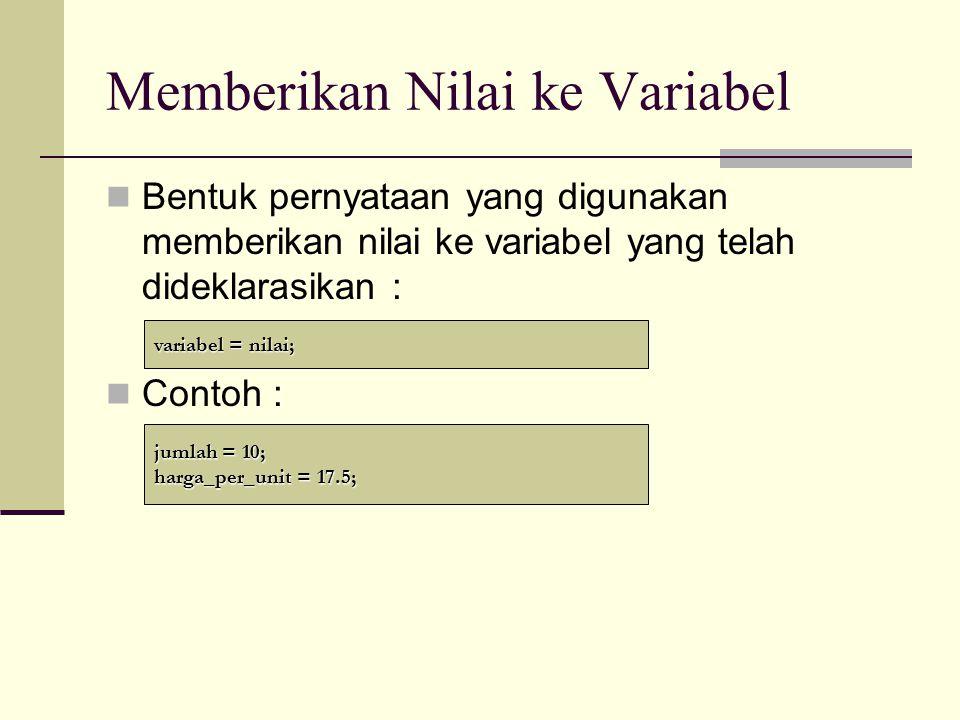 Elemen Dasar C++ (Part 2) Hendri Sopryadi,S.Kom., M.T.I