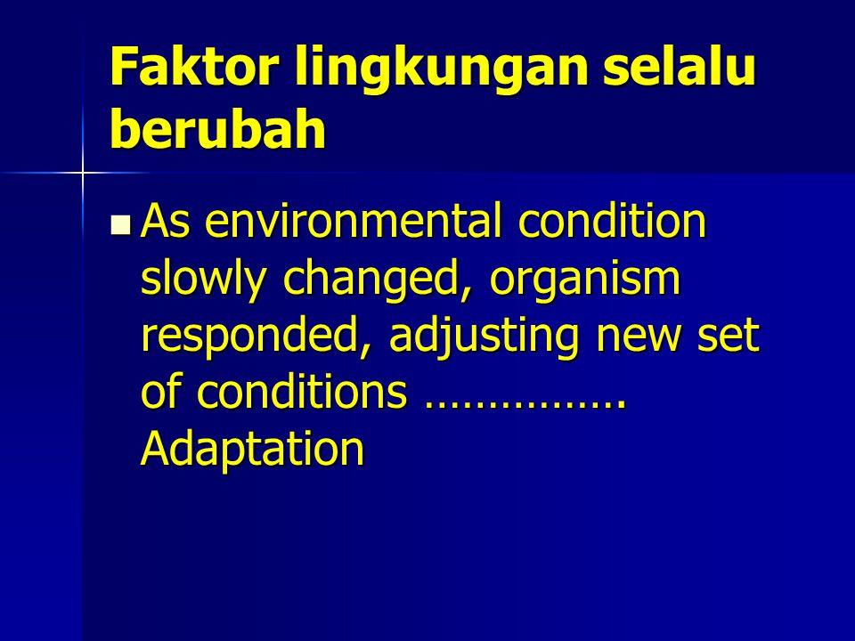 Contoh adaptasi Perakaran (1:kering; 2: normal; 3: basah; 4:gambut) Perakaran (1:kering; 2: normal; 3: basah; 4:gambut)