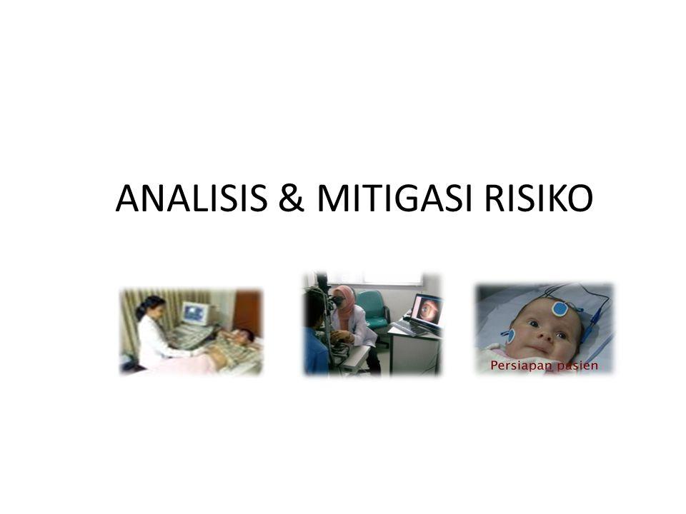 ANALISIS & MITIGASI RISIKO