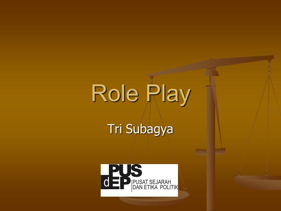 Role Play Tri Subagya