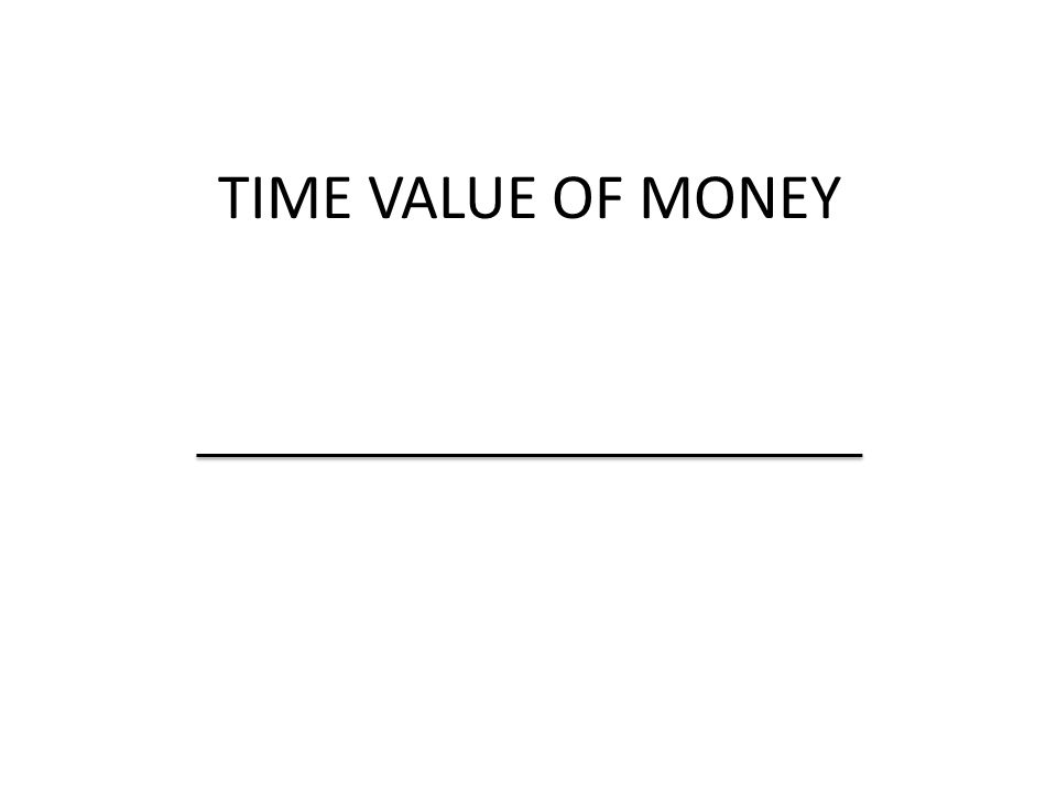 Future Value-Taking an amout and finding its value at sometime in the future Present Value-Taking an anmout from sometime in the future and finding its value today.