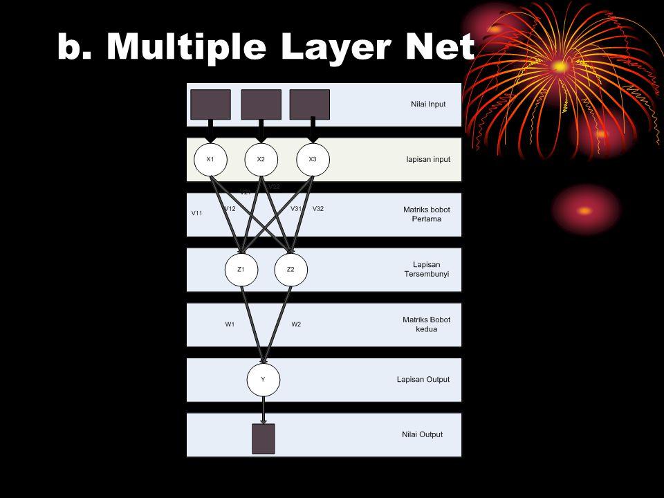 b. Multiple Layer Net