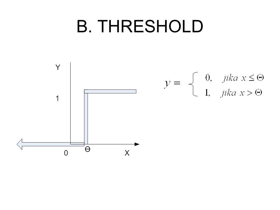 B. THRESHOLD