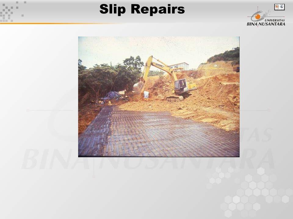 Slip Repairs