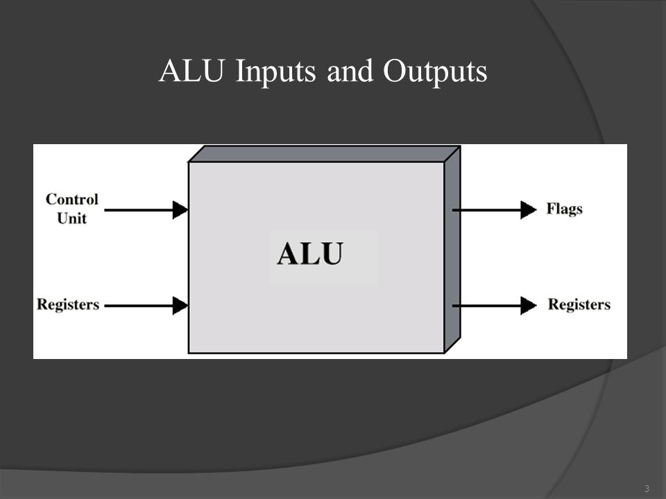 ALU Inputs and Outputs 3