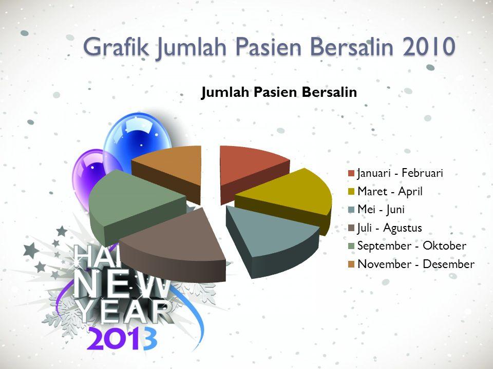 Tabel Jumlah Pasien Anak 2010 BulanJumlah Pasien Bersalin Januari – Februari22 Maret – April40 Mei – Juni35 Juli – Agustus50 September – Oktober45 Nov