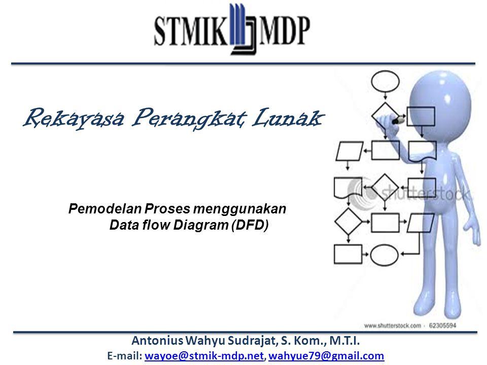 Rekayasa Perangkat Lunak Antonius Wahyu Sudrajat, S. Kom., M.T.I. E-mail: wayoe@stmik-mdp.net, wahyue79@gmail.comwayoe@stmik-mdp.netwahyue79@gmail.com