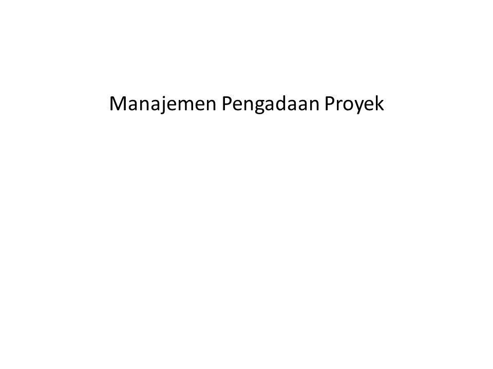 2Information Technology Project Management, Fourth Edition Pentingnya Manajemen Pengadaan Proyek  Pengadaan berarti mendapatkan barang dan/atau layanan dari sumber luar.