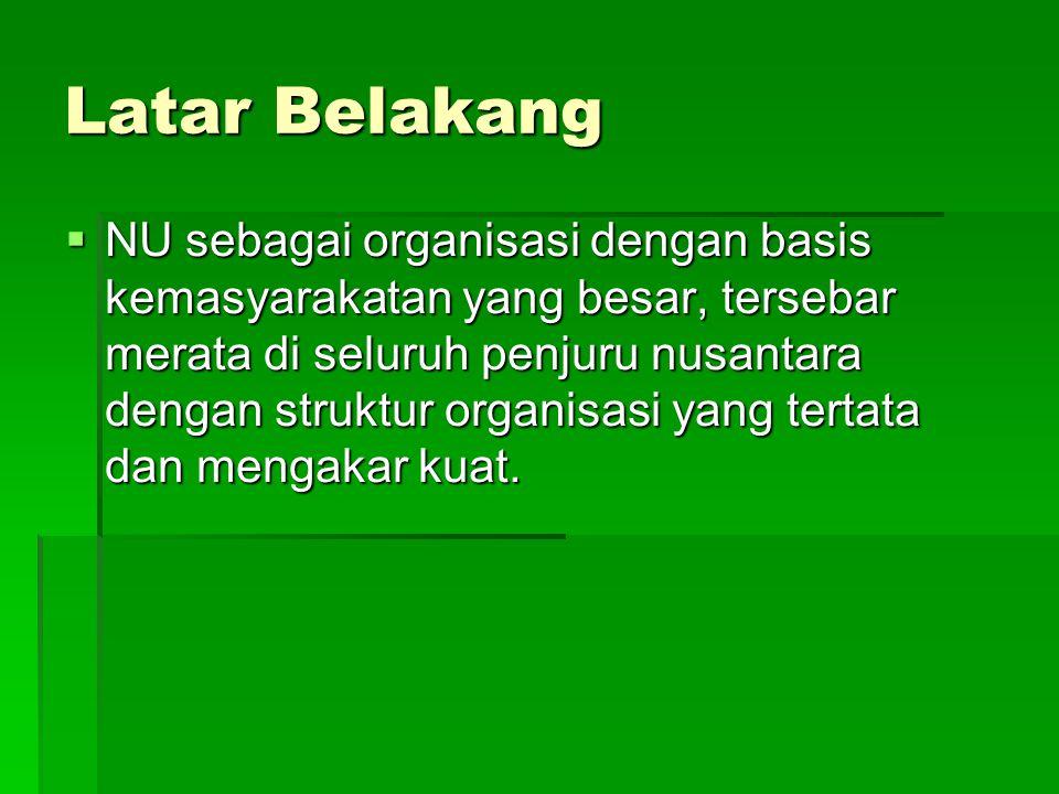 Latar Belakang  Konpercab NU Kota Semarang bulan Juli 2006 mengamanatkan agar pengurus Cabang NU Kota Semarang mendirikan Bank Pembiayaan Rakyat Syari'ah ( BPRS NU )  PC NU terpilih membentuk PC LP NU dengan SK No: PC.11.01/004/SK.03/II/2007,  PC LP NU Kota Semarang membentuk Koperasi NU Sejahtera ( NUS ),/ KSU NUS,  Koperasi NU Sejahtera membentuk Unit Usaha Keuangan Syari'ah ( BMT NU Sejahtera )