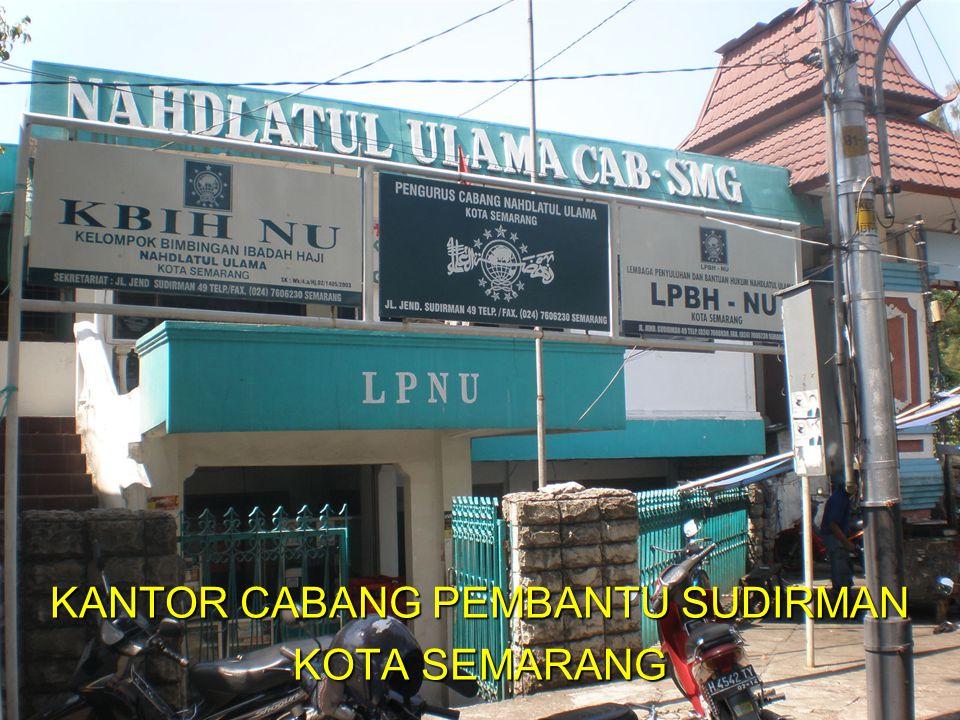 KANTOR CABANG PEMBANTU SUDIRMAN KOTA SEMARANG