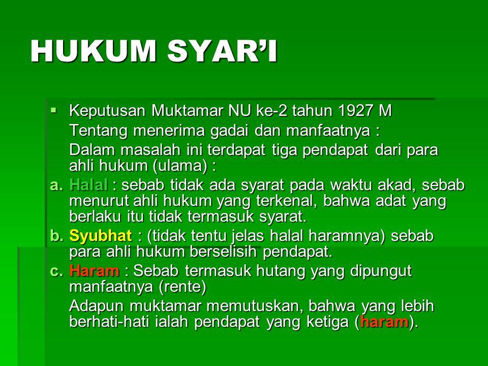 PEMBAGIAN SHU BMT NU SEJAHTERA KOTA ………… 50% Saham, sesuai dengan saham yang masuk, baik PCNU Kota Semarang maupun PCNU Kota …………….