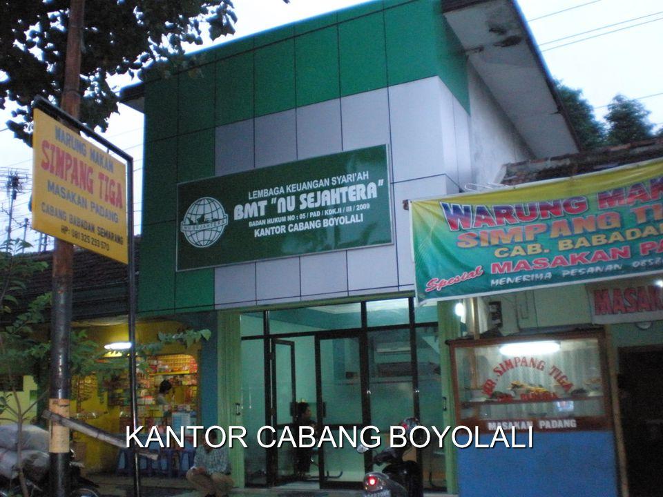 KANTOR CABANG BOYOLALI
