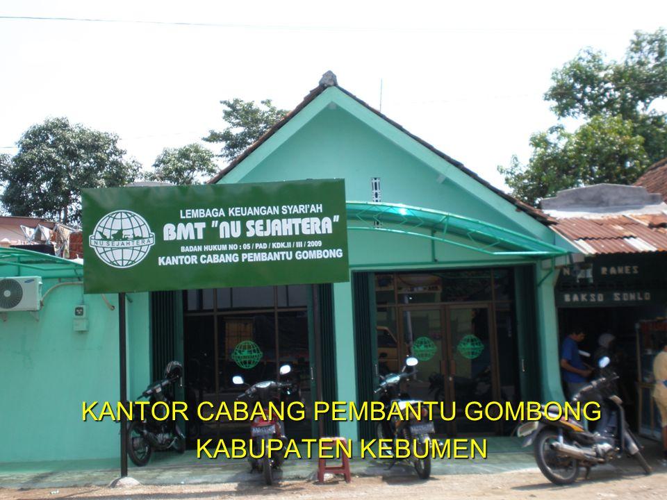 KANTOR CABANG PEMBANTU GOMBONG KABUPATEN KEBUMEN