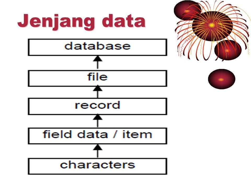 Jenjang data