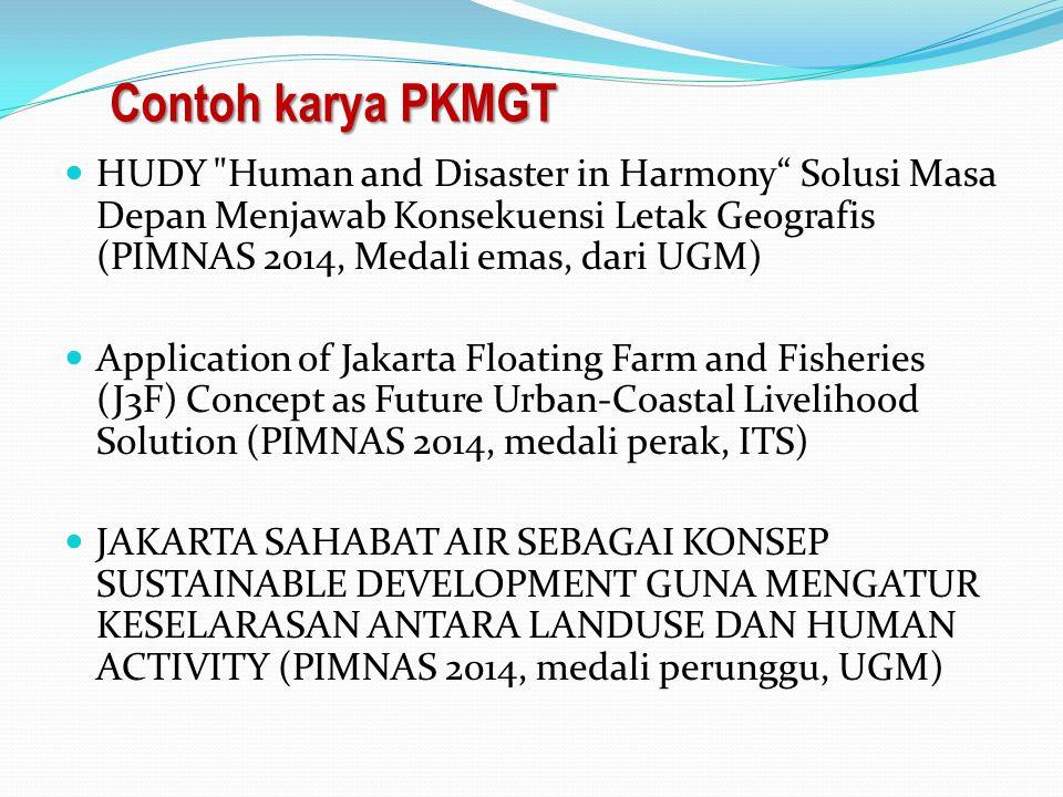 Contoh karya PKMGT HUDY