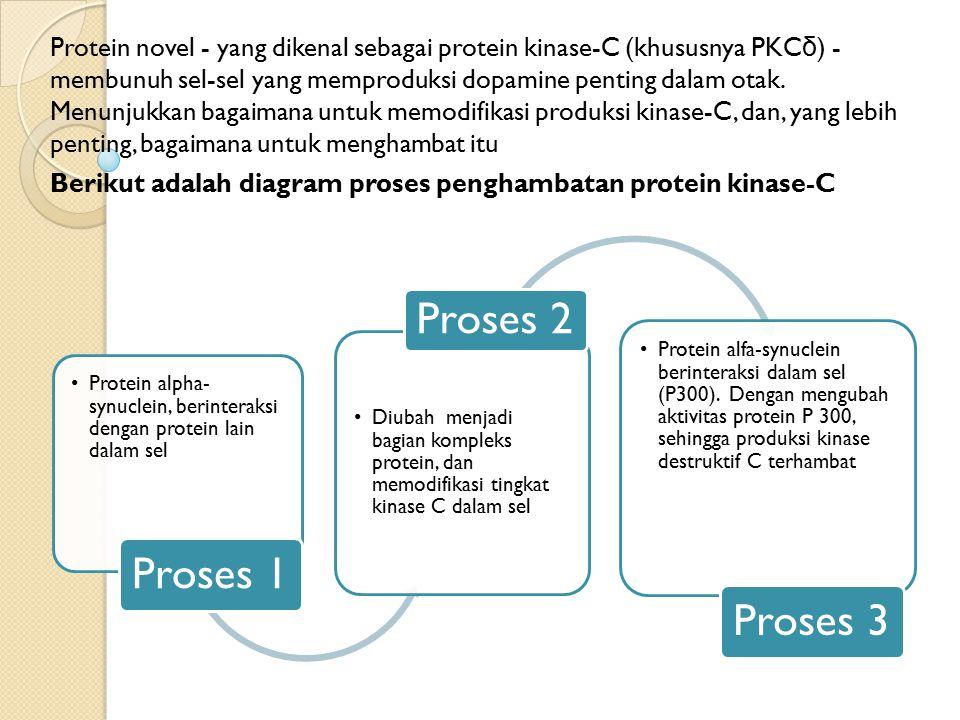 Protein novel - yang dikenal sebagai protein kinase-C (khususnya PKC δ ) - membunuh sel-sel yang memproduksi dopamine penting dalam otak.