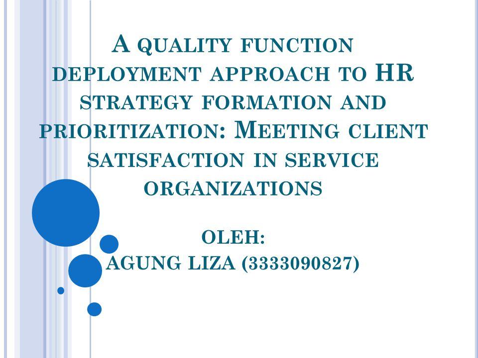 A BSTRAK Client satisfaction adalah kriteria untuk menilai organisasi pelayanan di sektor publik.