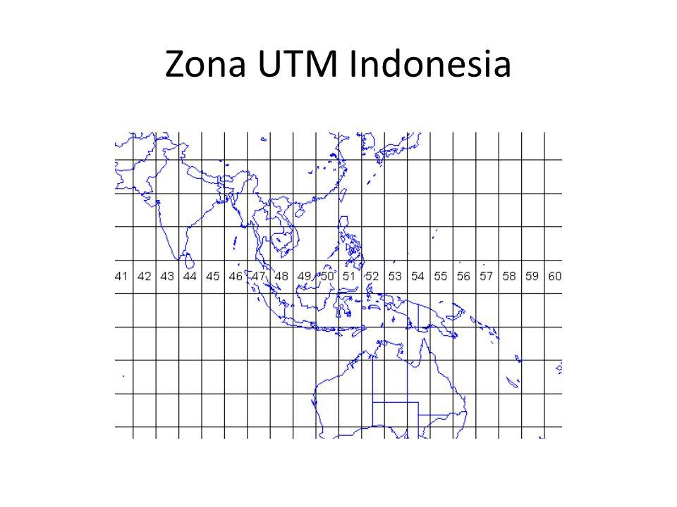 Zona UTM Indonesia
