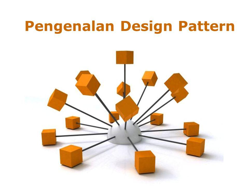 Page 1 Pengenalan Design Pattern