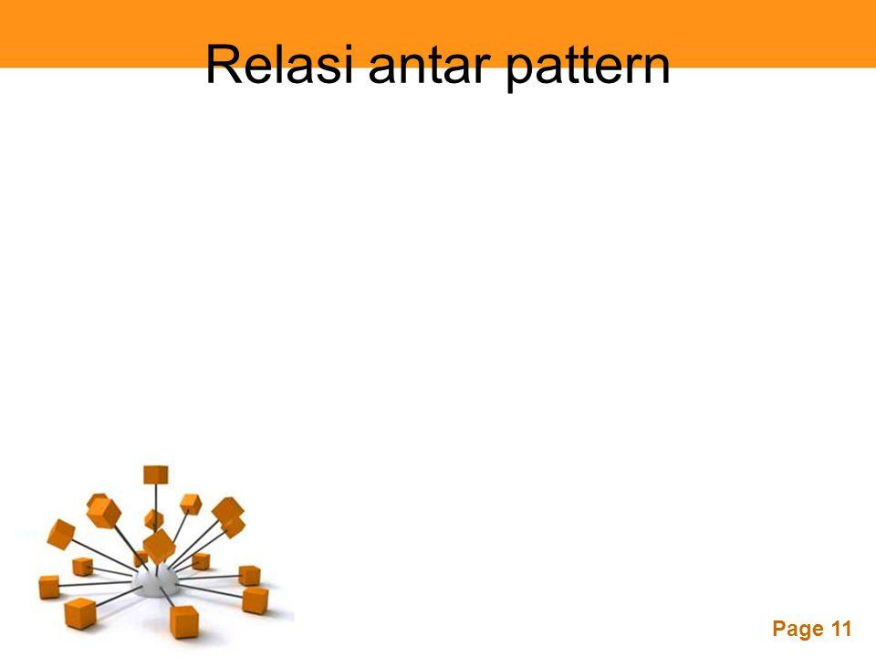 Page 11 Relasi antar pattern