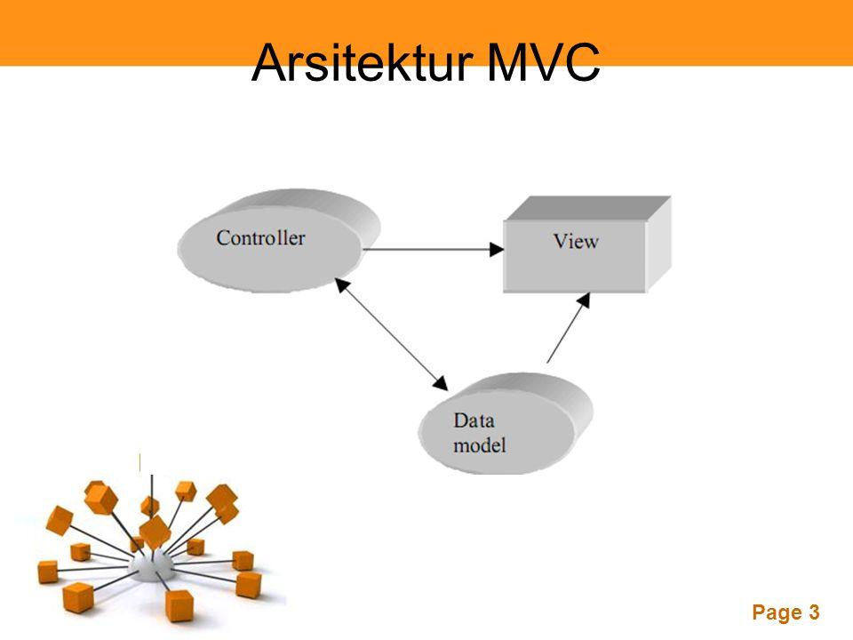 Page 3 Arsitektur MVC