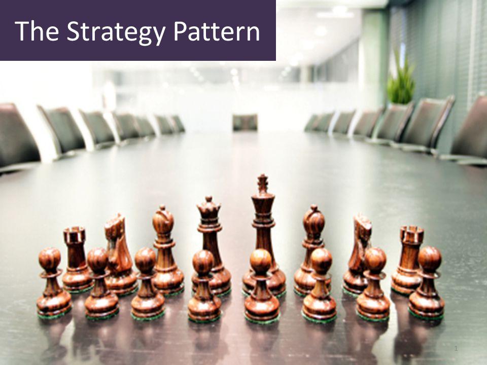 Jurusan Teknik Informatika Fakultas Teknik Univ. Muhammadiyah Malang The Strategy Pattern 1