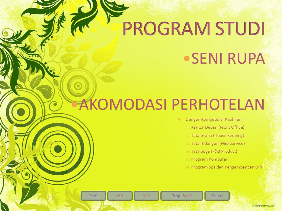 ProfilVisiMisiProgProg. StudiGaleri