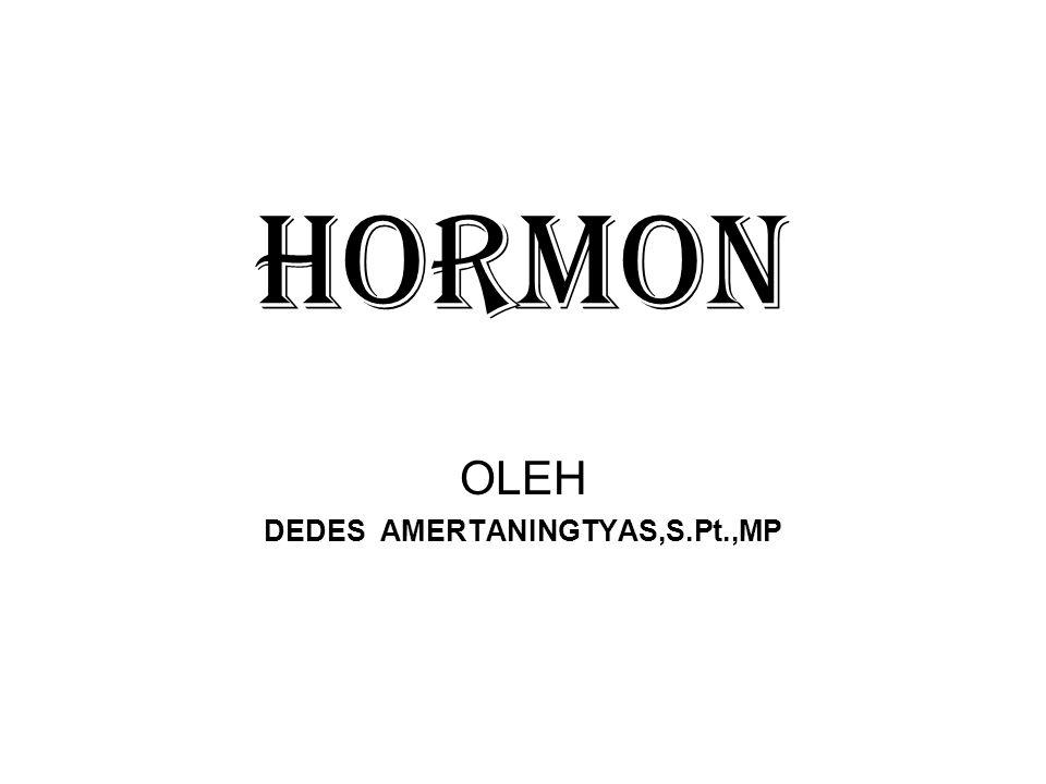 HORMON OLEH DEDES AMERTANINGTYAS,S.Pt.,MP