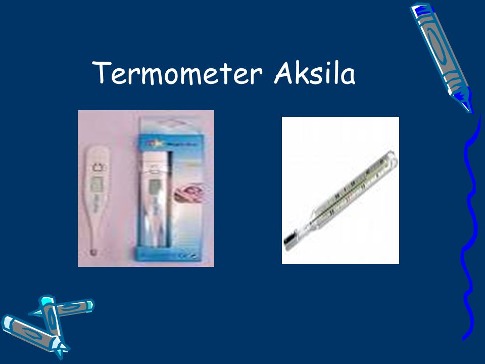 Termometer Aksila