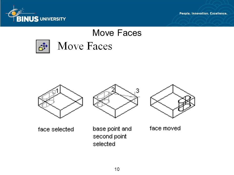 10 Move Faces