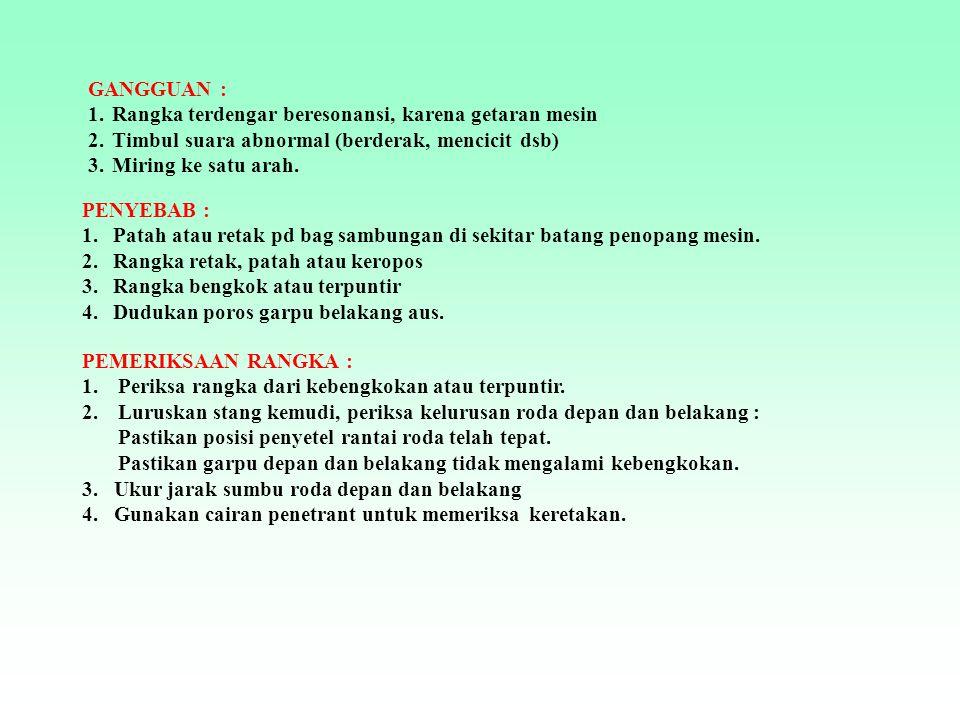 Rangka Jenis Pressed Steel Dan Tubular Pola Diamond (T.Bone) GL Series