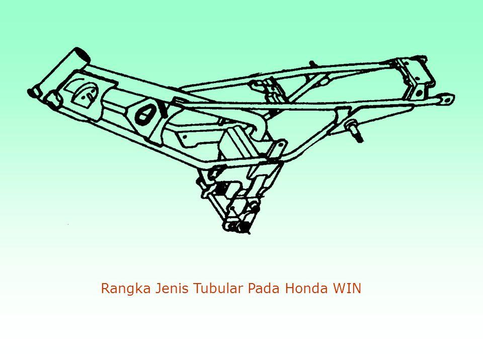 Rangka Jenis Tubular Pola Semi Double Cradle ( Honda CB 175 )
