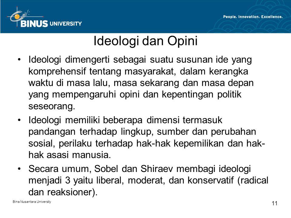 Ideologi Radikal, merefleksikan kritik fundamental terhadap masyarakat, pemerintah, institusi dan kebijakan-kebijkan modern.
